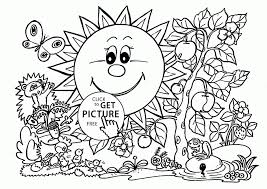 Download Coloring Pages Garden