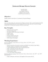 Server Resume Example Restaurant Samples Throughout Sample