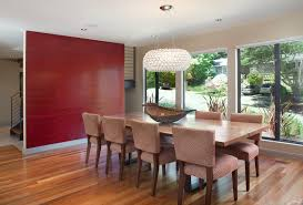 Chandelier Modern Dining Room by Rectangular Shade Chandelier Dining Room Contemporary With Accent