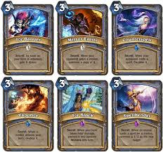 Good Hearthstone Decks For Beginners by Hearthstone Best Free Mage Deck Basic Deck Mage Cards