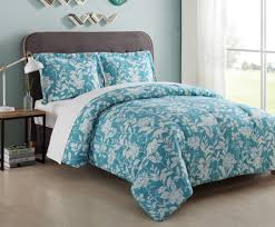 Twin Bed In A Bag Sets by Essential Home Microfiber Comforter Set Turquoise Floral Home
