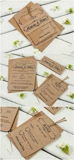 Kraft Wedding Invitation Bundle