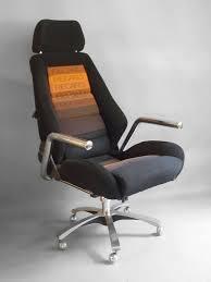 Acrylic Swivel Desk Chair by Race Car Style Executive Swivel Desk Chair By Recaro At 1stdibs