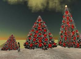 Red Bow Christmas Tree