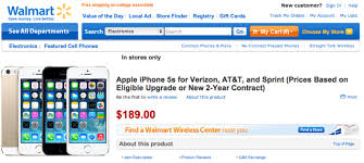 Walmart to sell iPhone 5c for $79 iPhone 5s for $189