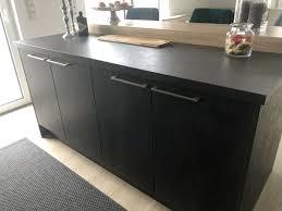 einbauküche küche l form mit e geräten und tresen