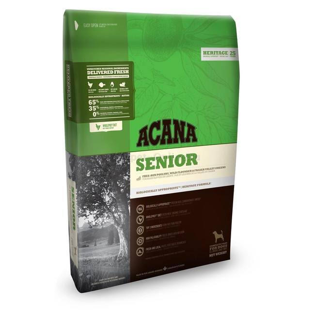 Acana Heritage Senior Dog Food 6kg