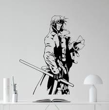 amazon com gambit wall vinyl decal x men marvel comics gambit
