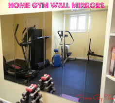 Home By Ten Cheap Home Gym Wall Mirrors home gym