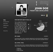 Online Resume Portfolio Examples Tier Brianhenry Co Printable 20 Creative Website