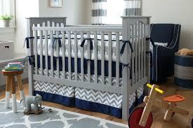 Navy And Grey Crib Bedding Navy Gray Crib Bedding Navy Blue And