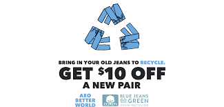 RECYCLE YOUR OLD JEANS + TAKE $10 OFF YOUR NEW FAVORITE PAIR ... The American Eagle Credit Cards Worth Signing Up For 2019 Everything You Need To Know About Online Coupon Codes Aerie Reddit Ergo Grips Coupon Code Foot Locker Employee Online Plugin Chrome Cssroads Auto Spa Coupons Codes 2018 Chase 125 Dollars How Do I Get Pink In The Mail Harbor Freight Tie Cncpts Elephant Bar September Eagle 25 Off Armani Aftershave Balm August Ragnarok 2 How