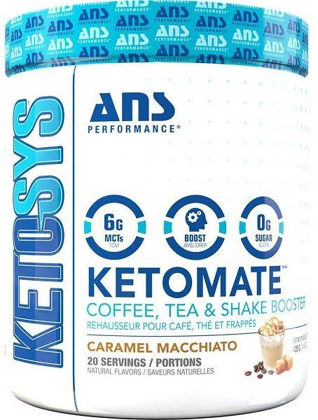 ans Performance Ketomate Caramel Macchiato - 20 Servings