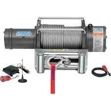 100 Truck Wench Ramsey Patriot Profile 12 Volt DC Powered Electric Winch With