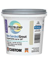 Polyblend Ceramic Tile Caulk Colors by Polyblend Non Sanded Non Shrink Grout Custom Building Products
