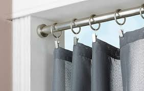 shower curtain tension rod extra long the homy design