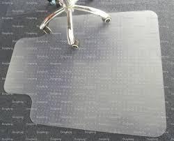 Desk Chair Mat For Carpet by Amazon Workstation Desk Chair Mats 54 Quot X 60 Office Computer