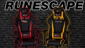 GT Omega Racing PRO Gaming Office Chair - Runescape Edition Costco Gaming Chair X Rocker Pro Bluetooth Cheap Find Deals On Line Off Duty Gamers Maxnomic Dominator Gamingoffice Gaming Chair Star Trek Edition Classic Office Review Best Chairs Ever Maxnomic By Needforseat Brazen Shadow Pc Chairs Amazoncom Pro Breathable Ergonomic Rog Master Akracing Masters Series Luxury Xl Blue Esport L33tgamingcom Vertagear Pline Pl6000 Racing