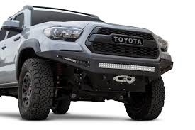 Toyota Tacoma Aftermarket Front Bumper   ADDOffroad Amazoncom Addictive Desert Designs F7142590103 Venom Front Toyota Tacoma Winch Bumper 19952004 Shop Honeybadger Gen 3 2016 Mount For 4th Generation 052014 8994 Truck Plate Style Rear Bumpers Pavement Sucks Your 1982 Pickup Dom Pipe Pirate4x4com 4x4 And Off Pure Accsories Parts Your 2018 Tundra Equipped With Our 052015 Mobtown Offroad F753842940103 072013