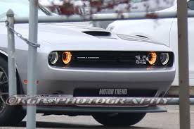 100 Truck Hood Scoops Dodge Challenger Hellcat Spotted With ViperStyle Scoop