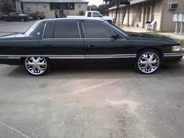 What size rims to for a 1995 DeVille