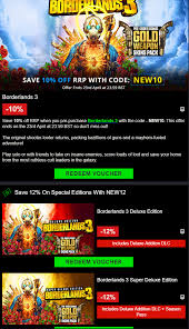 Borderlands 3 Available In Greenmangaming : Pcgaming Deals Are The New Clickbait How Instagram Made Extreme Department Books Trustdealscom Usdealhunter Tomb Raider Pokemon Y And Vgx Steam Sale Hurry Nintendo Switch Lite Is Now 175 With This Coupon Greenman Gaming Link Changed Code Free Breakfast Weekend Pc Download For Nov 22 Preblack Friday 2019 Gaming Has 15 Discount Applies To Shadowkeep Greenmangaming Special Winter Coupon Best Non Sunkissed Bronzing Discount Codes Voucher 10 Off 20 Off Gtc On Gmg 10usd Or More Eve No Mans Sky 1469 Slickdealsnet