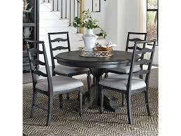 Magnussen Home Bedford Corners Single Pedestal Round Dining Table ... Paris 80 Cm Round Ding Table 4 Chairs In White Whitegrey Bellevue Pub D8044519 Cramco Counter Height Seater Oslo Chair Set Temple Webster Ding Table Chairs Easyhomeworld And Aamerica Port Townsend 5 Pc Oak Glass And With Fabric Seats Amazoncom Coavas 5pcs Brown Kitchen Rectangle Vfuhrerisch Black Wood Red Small Cheap Find 8 Solid Davenport Ivory Dav010