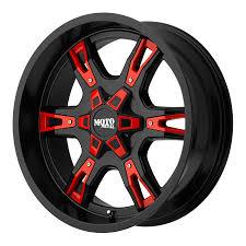 100 Moto Wheels Truck 18x10 MOTO METAL BLACK 969 WHEEL 24mm OFFSET West KY Customs