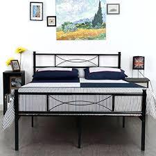 Platform Metal Bed Frame by Steel Bed Frame Foundation Platform Inch Heavy Duty Metal Bed