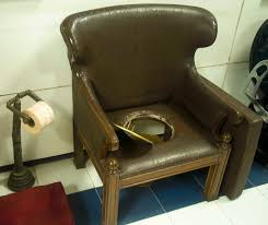 WC For Everyone: A Museum Of Toilets - NØRA : NØRA Country Home Bath And Cosy Armchair In Bathroom Stock Photo Toilet Russcarnahancom Bewitch Pictures Chair Height Bowl Delight Brown If You Want To Go For The Royal Flush Then Maybe This Is Armchairs Vintage Made Wooden Metal 114963907 Porta Potti Qube 365 Chemical Portable Nrs Healthcare Allmodern Custom Upholstery Warner Big Reviews Wayfair Mab Poltroncina Blog Padded Vieffetrade Shower Depot Seat Lowes Vanity With Rare Modern Morris With Adjustable Back By Edward Wormley Definite Foam Moldcast Model Mobiliario Proceso De Diseo