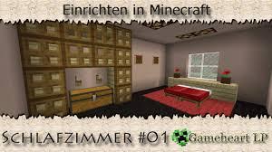 minecraft schlafzimmer 01 einrichten in minecraft