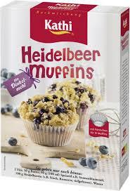 heidelbeer muffins mit dinkelmehl