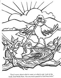 Sermon On The Mount Bible Coloring Page For Kids To Learn Stories