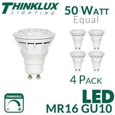 led mr16 gu10 50 watt equal thinklux tkumr16 6 5w earthled