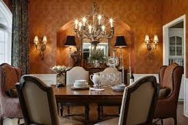 Arched Window In Cool Dining Room Ideas With Chandeliers And Wall Decor