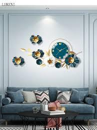 uhren wanduhren wohnzimmer home fashion kreative moderne