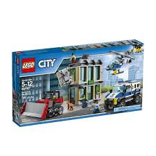 100 Lego Police Truck LEGO City Bulldozer Breakin