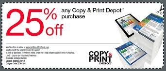 Depot Printable Coupon