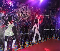 organiser une soirée à theme pas cher sur thème disco