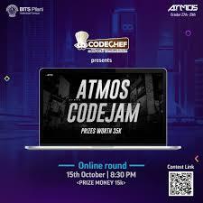 100 Atmos 35 CodeJam Qualifiers CodeChef