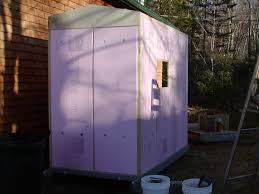 Plastic Storage Sheds At Menards by Coroplast Shack And Menards Storage Shed Ice Shanty Pinterest