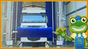 Giant Truck Wash For Children   Gecko's Real Vehicles - YouTube Semi Truck Wash Near Me Commercial Truck Wash Near Me Youtube Home Brown Bear Car System Green Machine Iq Headingley West Storage Murphy Transport Ltd Jerrys Express In Fort Worth Keller Texas 24 Hour Unique Locations Automotive Blue Beacon Towing Silver Vancouver S W Pssure Inc