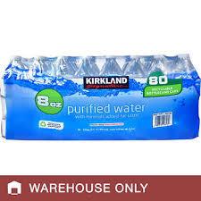 Kirkland Signature Water Bottle 8 Fl Oz 80 Count