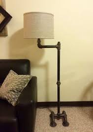 Floor Lamp Plumbing Pipe With Black Iron Faucet Switch By NeverdidDesigns And 9 Diy Rustic On Category