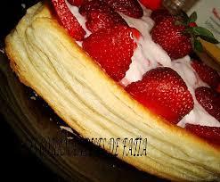 tarte aux fraises pate feuilletee tarte au fraise feuilleté paperblog