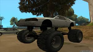 Replacement Of Monster.txd In GTA San Andreas (52 File) Hilarious Gta San Andreas Cheats Jetpack Girl Magnet More Bmw M5 E34 Monster Truck For Gta San Andreas Back View Car Bmwcase Gmc For 1974 Dodge Monaco Fixed Vanilla Vehicles Gtaforums Sa Wiki Fandom Powered By Wikia Amc Pacer Replacement Of Monsterdff In 53 File Walkthrough Mission 67 Interdiction Hd 5 Bravado Gauntlet