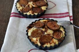 recette tartelettes de figues fraîches aux amandes