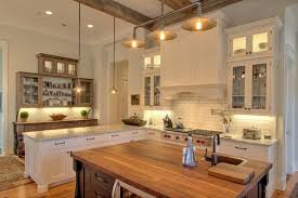 diy rustic lighting kitchen traditional with gray countertop wood