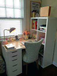 office desk fice Desks Ikea Create e Home For Two Using The