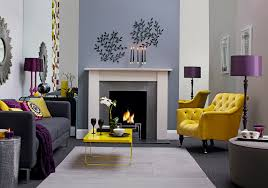 Purple And Grey Living Room Decorating Ideas Cool 1000 Images About New Home On Pinterest
